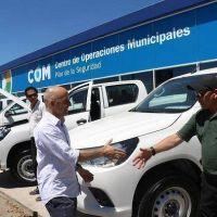 Ducoté recibió 34 nuevos vehículos para la flota de seguridad de Pilar
