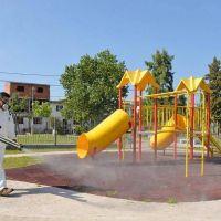San Fernando continúa con tareas de fumigación en todos los barrios