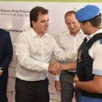 """Ritondo junto Insaurralde: """"No hacemos política con la inseguridad"""""""