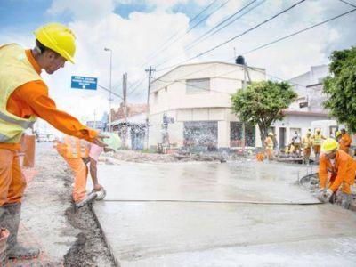 Siguen los trabajos en las avenidas más importantes