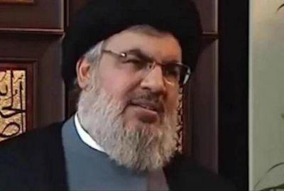 """Nasrallah: """"Israel debe contar hasta un millón antes de salir a una guerra con el Líbano"""""""