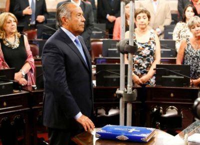 Adolfo Rodríguez Saá asumió como vicepresidente segundo del Senado