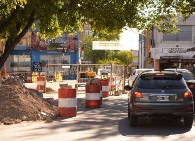 San Luis: por la obra de los desagües, cortarán el tránsito en Bolívar durante 5 días