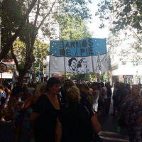 [#JornadaNacionalDeLucha] Barrios de Pie se moviliza en Mar del Plata