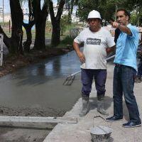 Tagliaferro anunció la llegada de las cloacas al Barrio Seré de Castelar