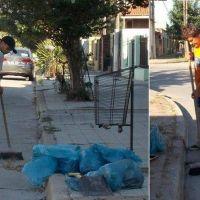 Operativo limpieza para los barrios de #Necochea