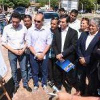 Siete barrios de Capital contarán con desagües pluviales