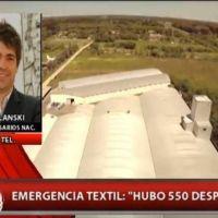 """Emergencia en el sector textil, los empresarios dicen que """"la situación es crítica"""""""