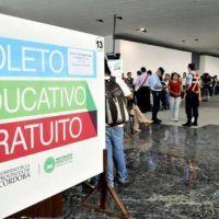 Boleto Educativo Gratuito: más de 8 mil anotados en el primer día