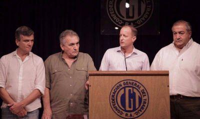 La CGT se mete en la interna del PJ: pide candidato único para las primarias