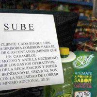 Kiosqueros reclaman legalizar el cobro por la recarga de la SUBE