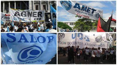 El Frente Sindical Docente de Entre Ríos ratificó el rechazo de la oferta y consensuó una serie de demandas
