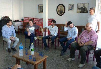 Radicales se reunieron con referentes de Agroindustria