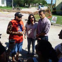 Presentaron el comienzo de obra de gas continuo en barrio Jardín