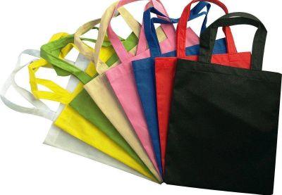 El Gobierno y costureras locales lanzaron al mercado local, unas 5.000 bolsas ecológicas