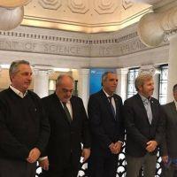 En Estados Unidos, Colombi firmará hoy un convenio de obras con el BID