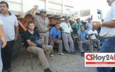 Paro de 24 horas de trabajadores municipales en Capitán Sarmiento