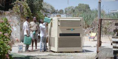 Cuando el agua potable del aire es necesaria