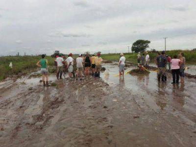 """El Frente Renovador de General Villegas le hace la """"pata ancha"""" al Ejecutivo Municipal por el problema de las inundaciones"""