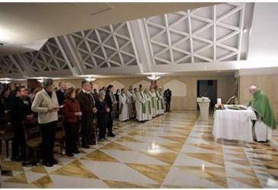 """Papa: Pedir la """"santa vergüenza"""" frente a la tentación"""
