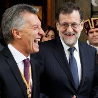 Guiño de Rajoy a Macri en España: