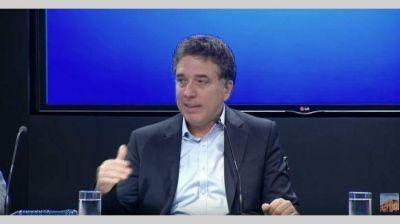 """Dujovne: """"La Argentina gasta mucho en subsidios que hay que ir eliminando"""""""