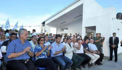 La Gobernadora encabezó la inauguración del Centro de Integración Familiar