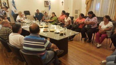 Chahla se reunió con los manifestantes del sur de la provincia