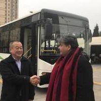 Anuncian llegada de empresa china a José C. Paz para fabricar colectivos eléctricos
