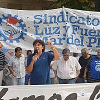 Micheli marchó en Mar del Plata y lanzó críticas a la suba de tarifas