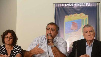 Tras la adhesión del PJ, Massa también se subió a la protesta de la CGT