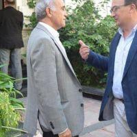 El Intendente de Saladillo habló sobre obras locales con el Vicegobernador Bonaerense