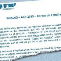 La AFIP notifica cargas de familia mal declaradas e invita a la moratoria