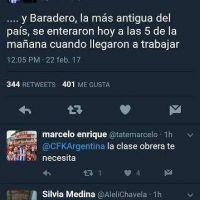 Cristina Fernández de Kirchner tuiteo sobre el cierre de Atanor