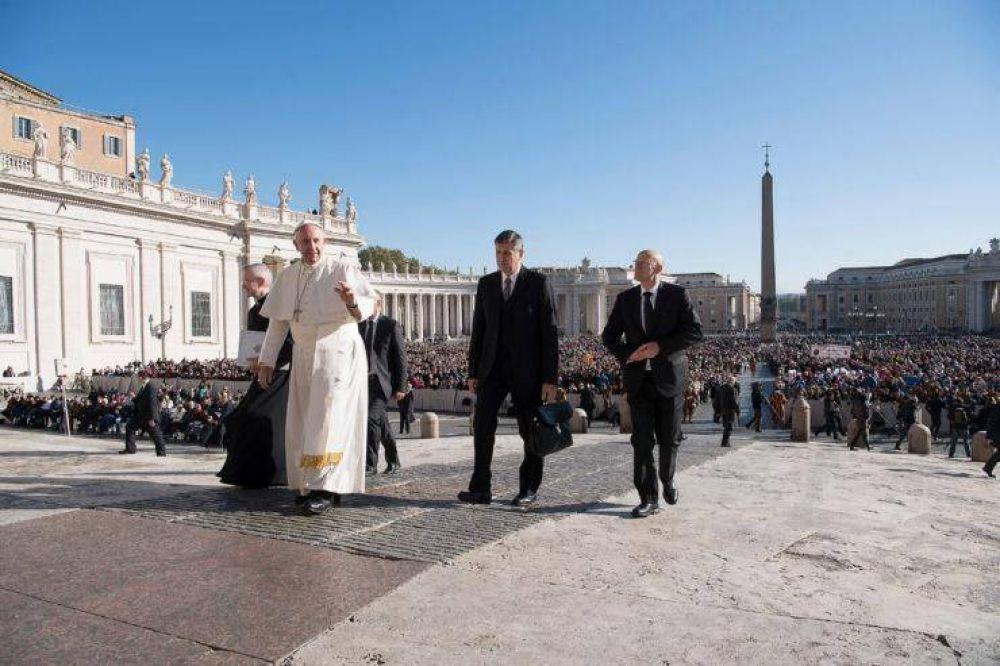Texto completo de la catequesis en la audiencia del papa Francisco del 22 de febrero de 2017
