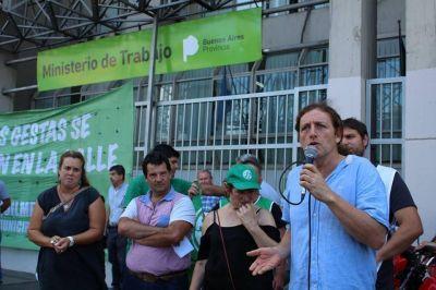 Miguel Diaz y Mirta Petroccini defendieron los paros pese al aval de la justicia a los descuentos