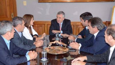 Gobernador recibió a diputados bonaerenses