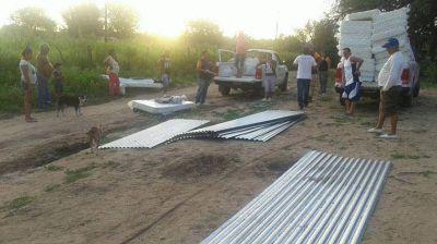 Gobierno asiste a familias santiagueñas