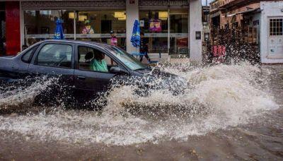 La ciudad quedó otra vez bajo el agua