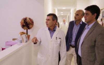 Jorge Macri presentó las nuevas remodelaciones en el Hospital Vicente López