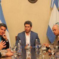 Uñac recibió al intendente de Coquimbo en Casa de Gobierno