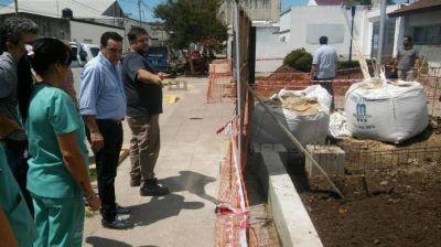 Cáffaro visitó el avance de las obras que se realizan en el futuro Hospital Intermedio Municipal de Lima