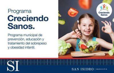 """Obesidad infantil: En San Isidro ya inscriben para el programa """"Creciendo sanos"""""""