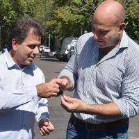 Martiniano Molina recibió nuevas unidades móviles para Quilmes