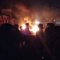 #edesurladrones: 100 mil usuarios sin luz, protestas, vecinos e intendentes re calientes
