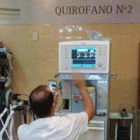 Nueva mesa de anestesia para el Hospital Emilio Ruffa