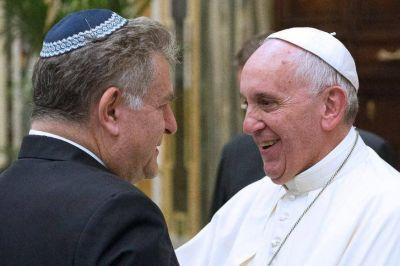 """El Papa Francisco confirma gestos concretos en el """"diálogo fraterno"""" entre judíos y cristianos"""