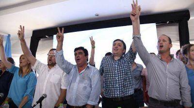 Con Máximo Kirchner en primera fila, el PJ bonaerense intentó dar una muestra de unidad con miras a las elecciones