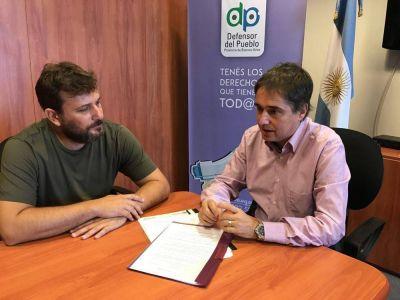 Ante la Defensoría del Pueblo, Doval denunció políticas antisindicales en Avellaneda