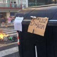Protestas en Capital y el Conurbano: sin luz y con calor
